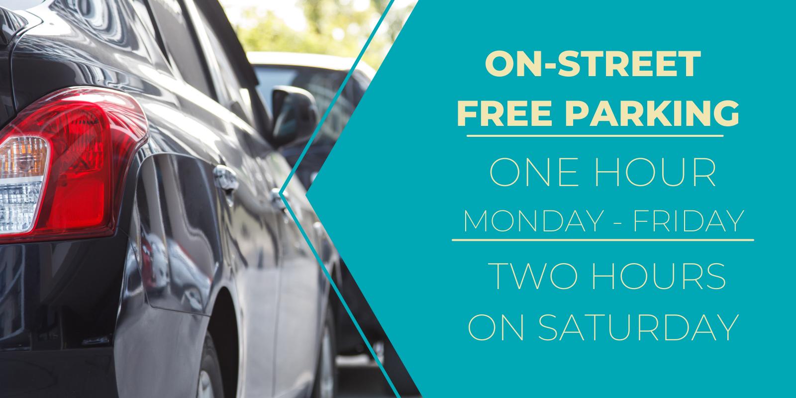 on-street free parking